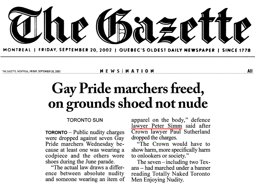 Montreal Gazette 2002-09-20 - Charges gone